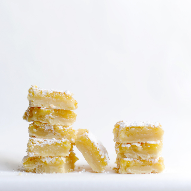 lemon bars, jana laurene