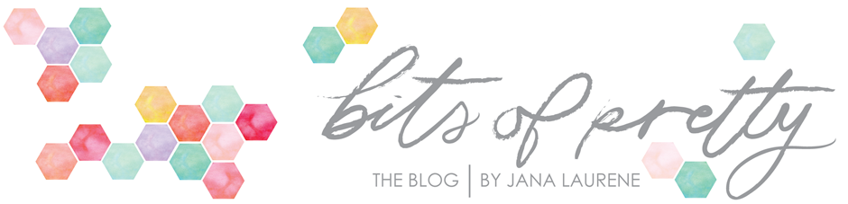 bits of pretty blog, jana laurene blog